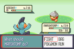 Pokemon Ruby - Shiny Seedot - User Screenshot